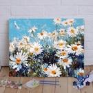 數字油畫diy風景成人減壓填色手繪涂色畫...