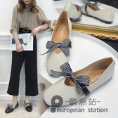豆豆鞋/新款平底百搭韓版學生淑女鞋夏季女鞋子「歐洲站」