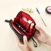 隨身化妝包小號便攜口紅收納袋簡約防水大容量韓國小號淑女洗漱包-Ifashion