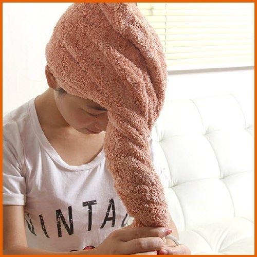 【Love Shop】加大加厚乾髮帽超強吸水速乾帽乾髮巾浴帽包頭洗髮巾