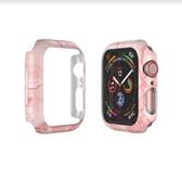【唐吉】CaseStudi Prismart保護殼for Apple Watch 44mm Series 4/5  粉紅色大理石