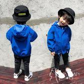 外套  男童外套秋冬裝風衣秋季兒童加棉加厚寶寶3小男孩洋氣沖鋒衣5歲潮