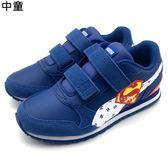 《7+1童鞋》中童  JL ST Runner v2 V PS  輕量  超人 運動鞋 8238  藍色