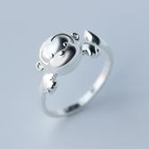925純銀戒指-有型璀璨小猴子生日情人節禮物女配件73ae151【巴黎精品】