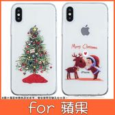 蘋果 iPhone XS MAX XR iPhoneX i8 Plus i7 Plus 聖誕TPU 手機殼 全包邊 彩繪 軟殼 保護殼