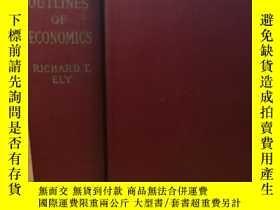 二手書博民逛書店OUTLINES罕見OF ECONOMICS 1930年版Y24