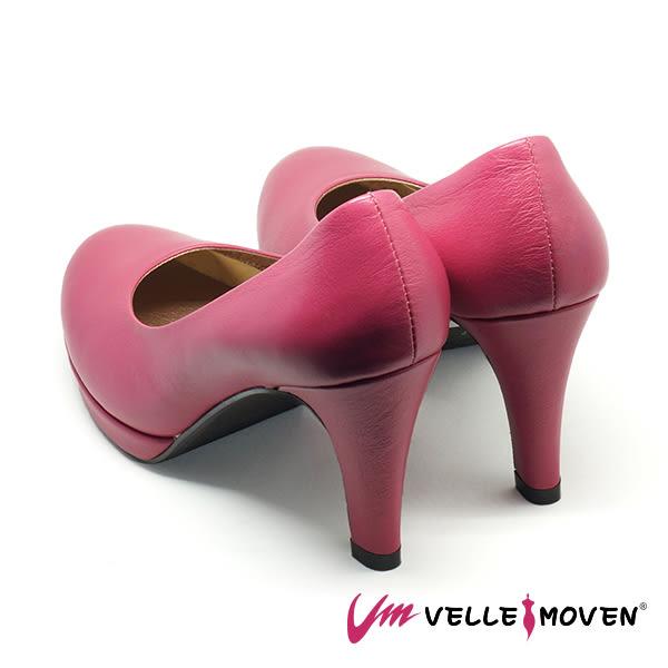 高跟鞋 新娘鞋 晚宴鞋 VelleMoven 都會OL MIT製 舒適高跟鞋_熱情桃