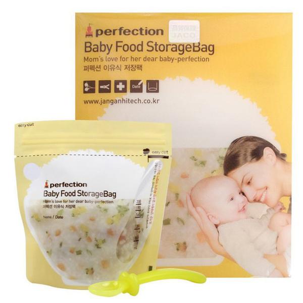 【奇買親子購物網】perfection 副食品保存袋200ML(30入)