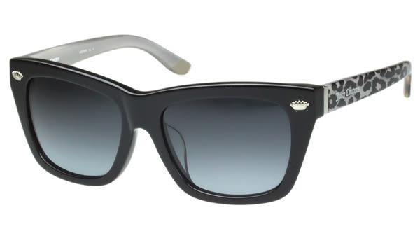 Juicy Couture -時尚太陽眼鏡(黑色+豹紋)