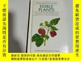 二手書博民逛書店EDIBLE罕見PLANTS:食用植物(英文)Y212829