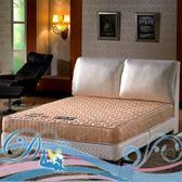 大地系 大理石白金級護背硬式彈簧床墊(雙人5尺)