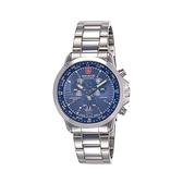 【SWISS MILITARY HANOWA】ARROW CHRONO瑞士錶三眼計時錶-深海藍/SM14205JSN.H03MS/台灣總代理公司貨兩年保固