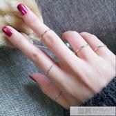 關節戒指女學生極簡約細尾戒日韓國網紅個性潮人食指指環  99購物節