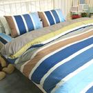 雙人床包被套組四件組/100%精梳棉-夏...