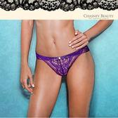 Chasney Beauty-陽光森巴S-M蕾絲丁褲(紫)