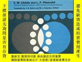 二手書博民逛書店Statistical罕見Physics, Part 2Y364682 L. P. Pitaevskii Bu