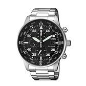 CITIZEN 狂飆急速三眼計時光動能腕錶/CA0690-88E