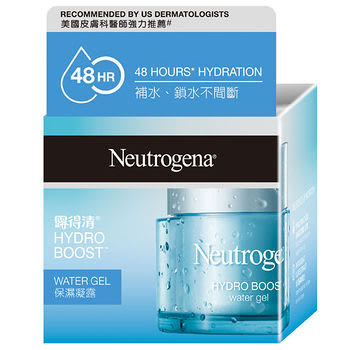 Neutrogena 露得清 水活保濕凝露(50g)/露得清水活保濕乳霜50g /有效期202006全新公司貨