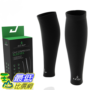 [美國直購] 漸進式壓力腿套 Calf Compression Sleeves 1 pair