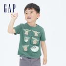 Gap男幼童 Gap x Star Wars星際大戰系列印花短袖T恤 681414-綠色