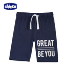 chicco-TO BE-休閒五分褲-藍