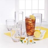 Tritan 透明塑膠水杯12件組