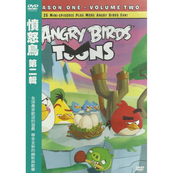 憤怒鳥 第二集 DVD (購潮8)