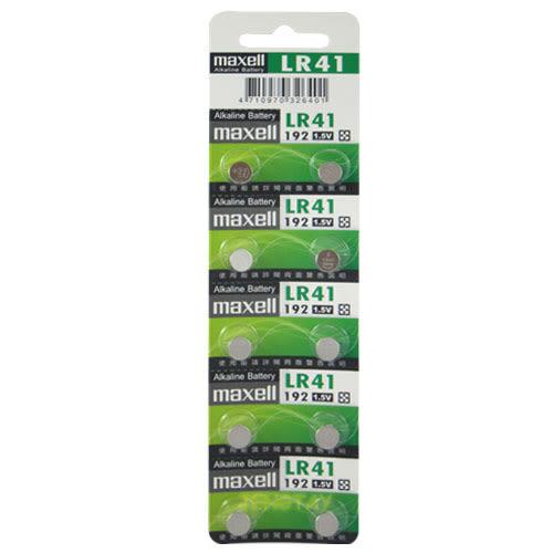 《鉦泰生活館》maxell 1.5V鈕釦型電池 10入/組 GP-LR41