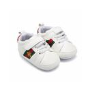 嬰兒鞋 寶寶學步鞋 蜜蜂實搭白底潮鞋 男寶寶 女寶寶 百搭嬰兒鞋 88261