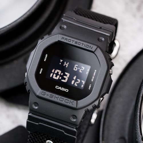 G-SHOCK DW-5600BBN-1 絕對強悍軍事黑時尚腕錶 DW-5600BBN-1DR 熱賣中!