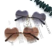 歐美愛心墨鏡  個性原宿心型墨鏡 精品獨家墨鏡 漸層太陽眼鏡 抗紫外線UV400
