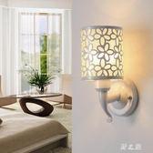 壁燈  墻壁燈臥室客廳房間餐廳床頭壁燈LED過道走廊陽臺燈簡約現代 KB11317【野之旅】