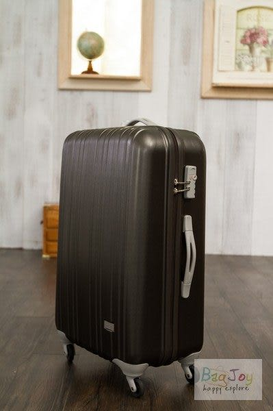YUE硬殼登機箱/行李箱 20吋-霧面咖啡色