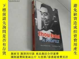 二手書博民逛書店Zhou罕見Enlai----A PROFILE:周恩來傳略【8