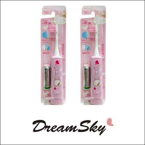 日本 minimum 限定版 KITTYT 電動 牙刷 (粉色) 兒童 附電池 Dreamsky