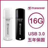Transcend 創見 USB3.0 16GB JetFlash700/730 隨身碟 16G