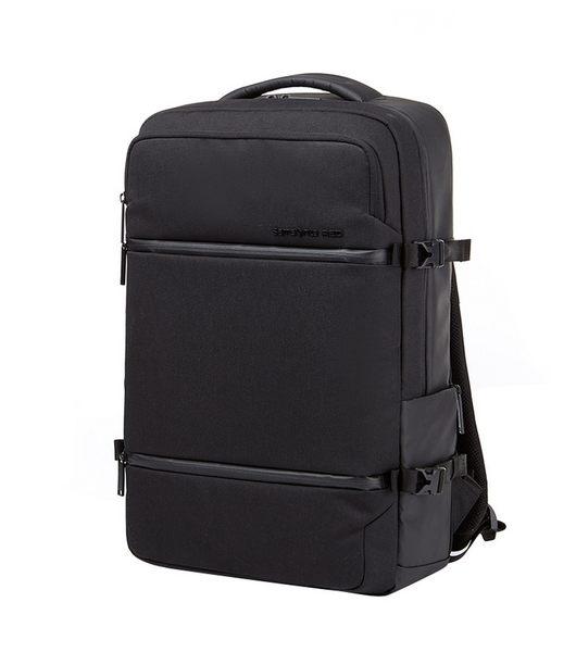 Samsonite RED 新秀麗 Caritani 後背包 造型潮流 筆電後背包-15.6吋(黑)