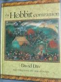【書寶二手書T6/原文書_XEF】The Hobbit Companion_David Day