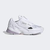 ADIDAS FALCON ZIP W [EF2047] 女鞋 運動 休閒 老爹 經典 復古 潮流 拉鍊款 愛迪達 白