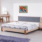 床架【時尚屋】[G17]柏克5尺床片型雙人床G17-A019-2不含床頭櫃-床墊/免運費/免組裝/臥室系列