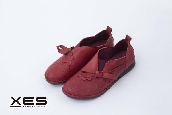 XES 工藝休閒鞋 紅色