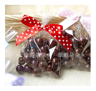 婚禮小物【戀戀米果巧克力】送客創意喜糖/憶童年古早味~小時候令人回味的糖果-幸福朵朵
