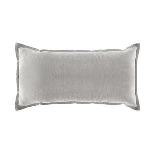 HOLA 素色織紋抱枕30x60cm米色
