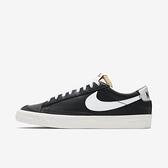 Nike Blazer Low 77 Vntg [DA6364-001] 男鞋 運動 休閒 耐穿 舒適 復古 簡約 黑白
