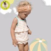德國Lassig-嬰幼兒抗UV二件式泳裝-俏皮條紋