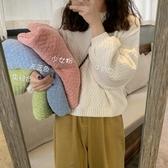 網紅軟糯毛衣女冬季新款韓版慵懶風寬鬆外穿加厚針織衫上衣潮 雅楓居