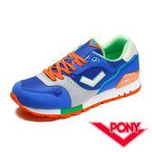 My Foot〔PONY ] MARK8系列 男款 運動慢跑鞋 - 寶藍X淺灰 53M1MK64DB