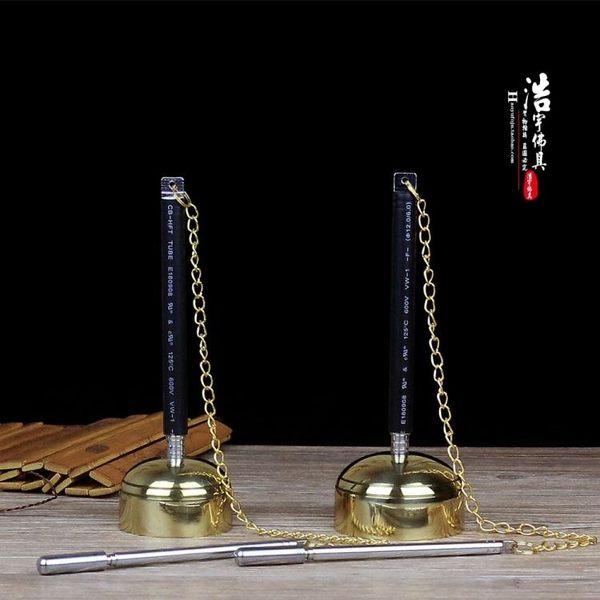 純銅可伸縮引磬引罄引慶銅磬佛教佛堂用品
