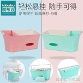 嬰兒床掛袋便攜尿布袋床邊尿不濕整理箱置物架床掛收納盒儲物籃YYJ  韓小姐