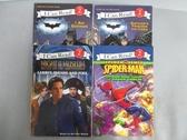 【書寶二手書T3/語言學習_PFY】I Can Read!(2)I am Batman_Spider-Man等_4本合售